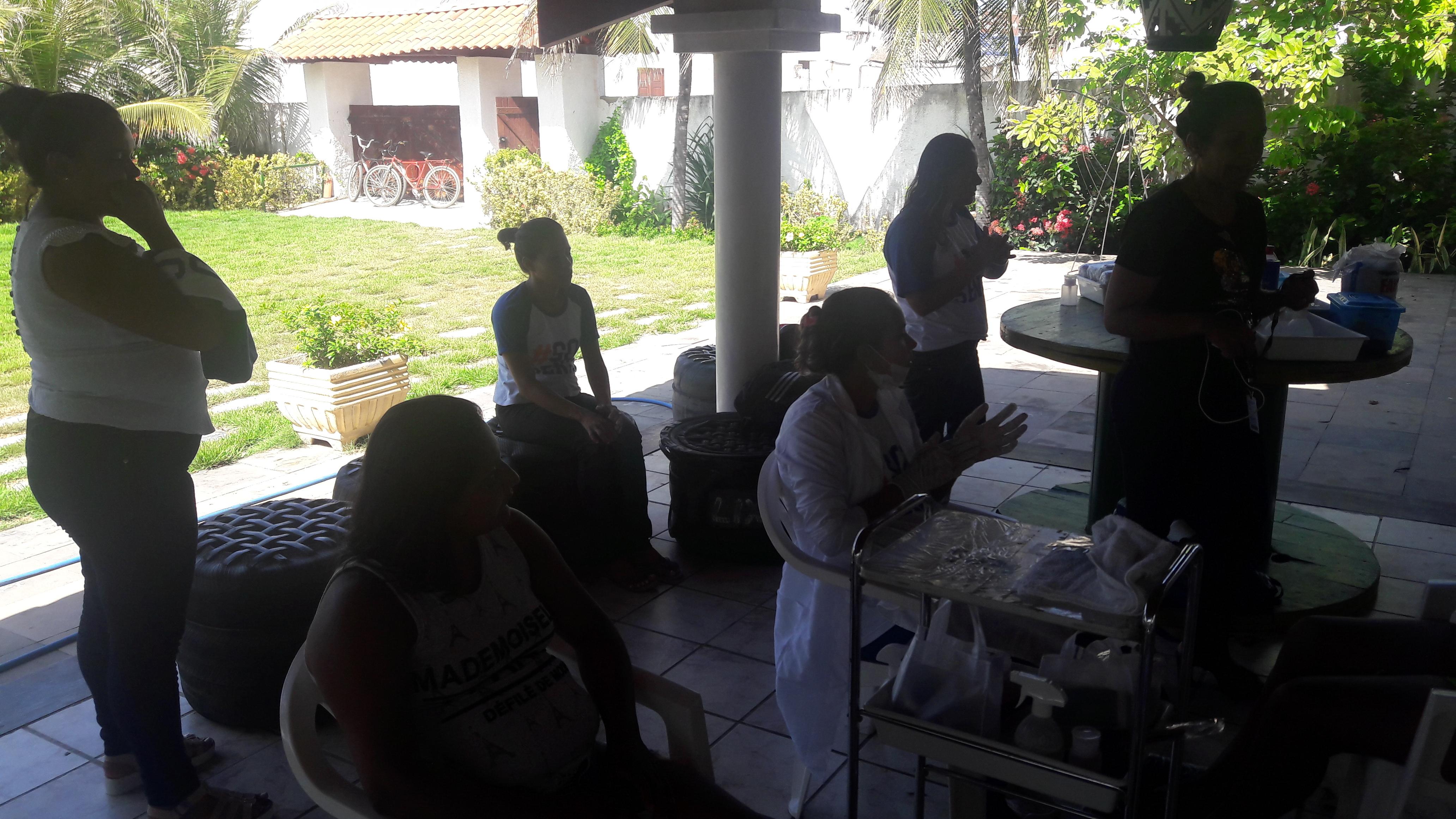 II AÇÃO SOCIAL PARA O POVO DE AQUIRAZ, DESSA VEZ EM ESPECIAL A COMUNIDADE DO IGUAPE FOI BENEFICIADA PELOS TRABALHOS DA APREMACE.