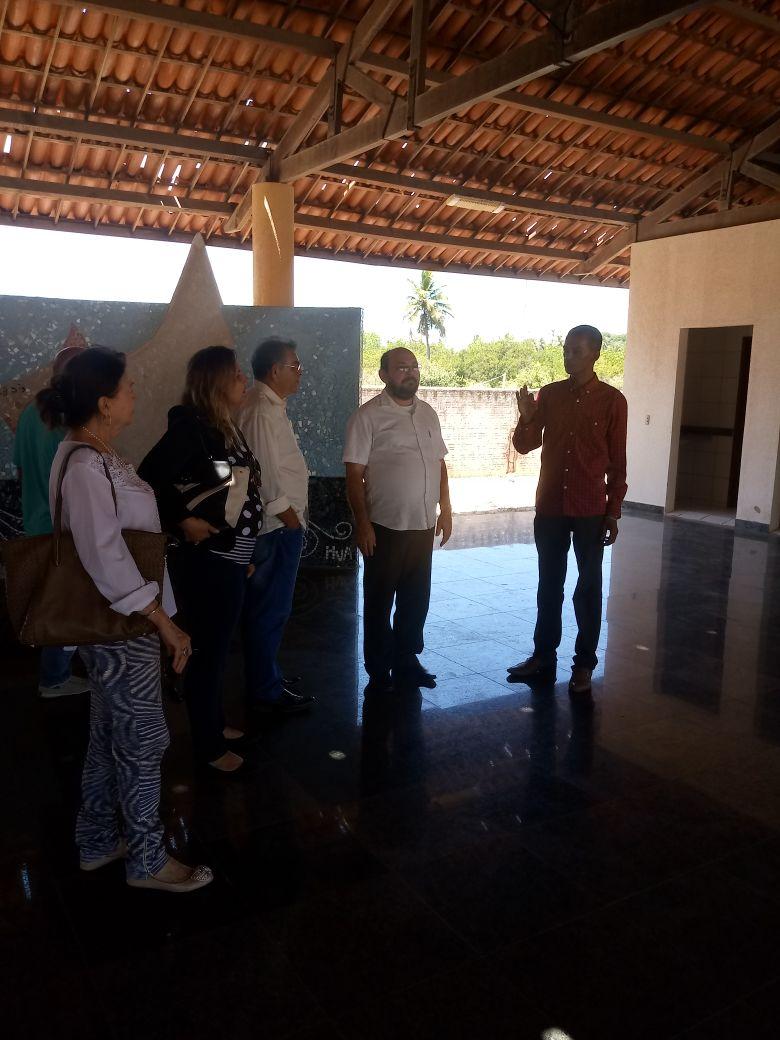 Visita da Secretária do Trabalho e Assistência Social Dra. Denise Aguiar a sede da APREMACE