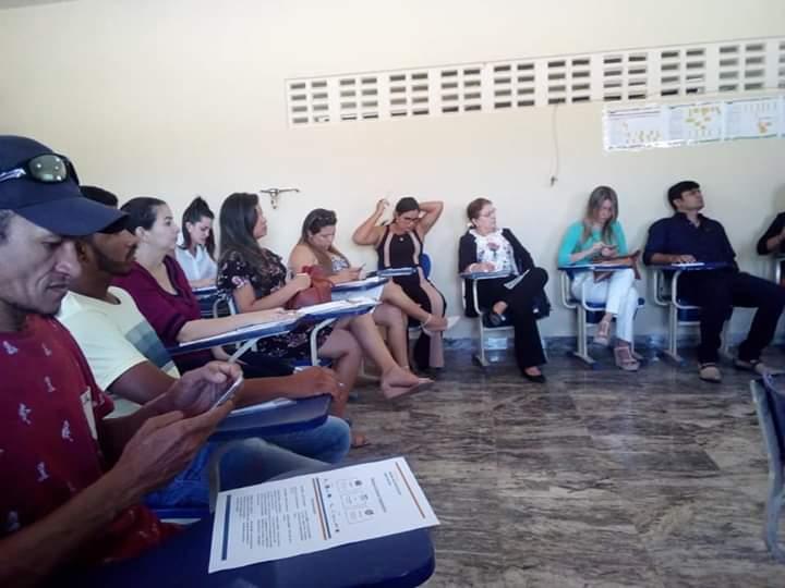 PROGRAMA REDES DE TERRITÓRIOS EDUCATIVOS E CIEDS REALIZAM ENCONTRO DO DISTRITAL DE JACAÚNA.